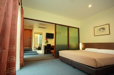 VIP Hotel Singapore - Private Garden Terrace Suite Room 2